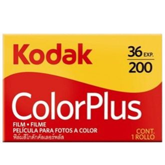 Filme Kodak Colorplus 200 - 36 Poses