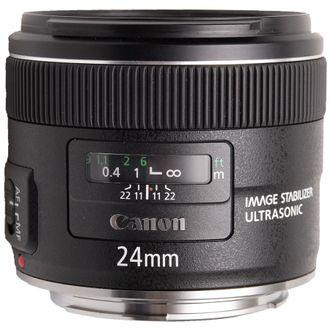 Objetiva Canon EF 24mm F/2.8 IS USM - Seminova