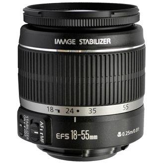 Objetiva Canon EF-S 18-55mm F/3.5-5.6 IS - Usada