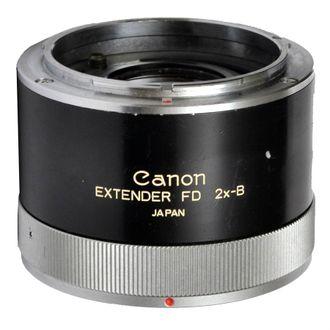 Tubo Extender Canon FD 2X-B com Anel para Tripé - Usado