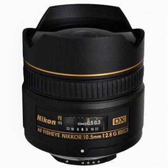 Objetiva Nikon AF 10.5mm F/2.8G Ed DX - Usada