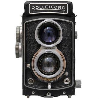 Câmera Rolleicord com Objetiva Schneider-Kreuznach Xenar 75mm F/3.5 - Usada