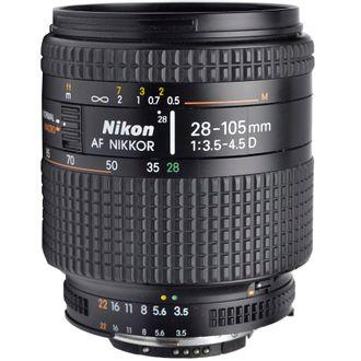 Objetiva Nikon AF 28-105mm F/3.5-4.5D - Usada