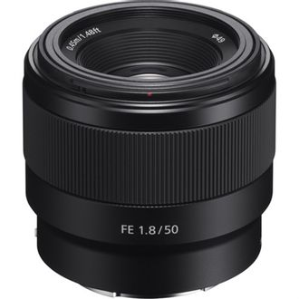 Objetiva Sony FE 50mm F/1.8 Fullframe - Usada