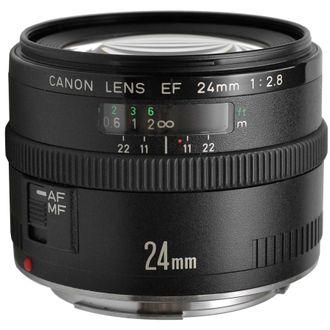 Objetiva Canon EF 24mm F/2.8 - Usada