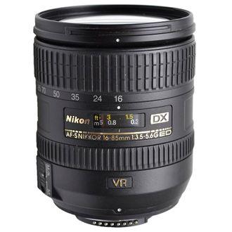 Objetiva Nikon AF-S 16-85mm F/3.5-5.6G ED VR - Usada