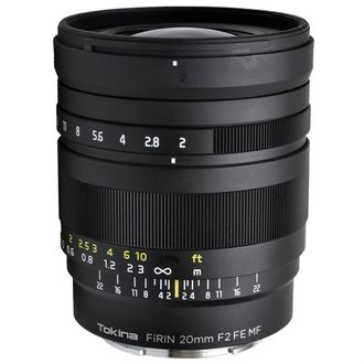 Objetiva Tokina Firin 20mm F/2 FE MF - E Mount - Seminova
