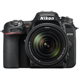 Câmera DSLR Nikon D7500 com Objetiva AF-S 18-140mm F/3.5-5.6G VR