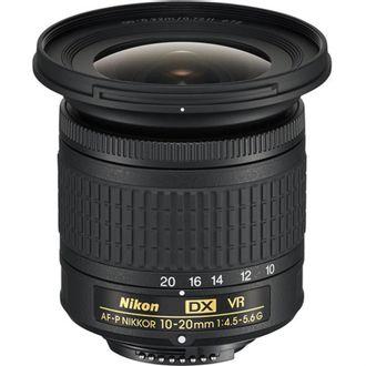 Objetiva Nikon AF-P DX 10-20mm F/4.5-5.6G VR