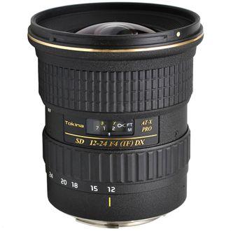Objetiva Tokina At-X Pro 12-24mm F/4 (LF) DX -PARA CANON - SEMINOVA