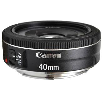 Objetiva Canon EF 40mm F/2.8 STM - SEMINOVA