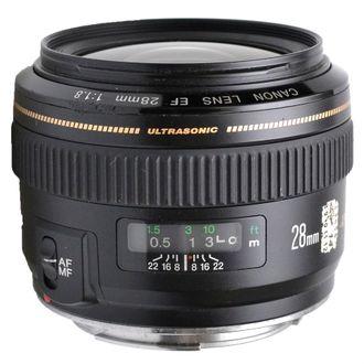 Objetiva Canon EF 28mm F/1.8 USM - Usada