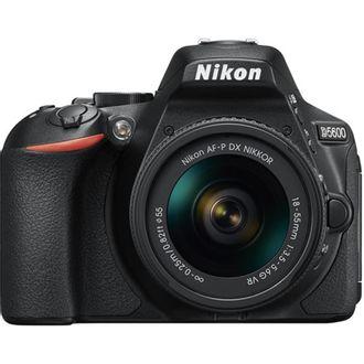 Câmera Nikon D5600 com Objetiva AF-P DX 18-55mm F/3.5-5.6G VR