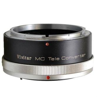 Teleconverter Vivitar MC 2X -4 Fl-FD - Usado