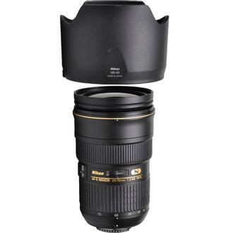 Objetiva Nikon AF-S 24-70mm F/2.8G N - SEMI-NOVA