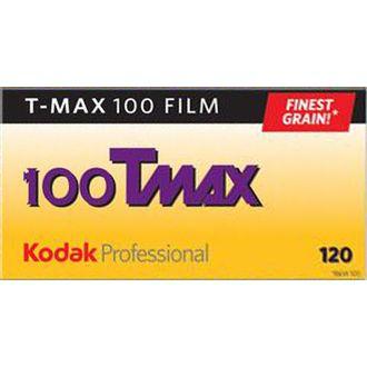 Filme Preto e Branco Kodak T-Max 100 - Formato 120 - Unidade