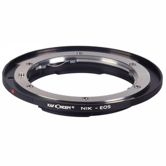Adaptador K&F de Objetivas Nikon para Câmeras Canon