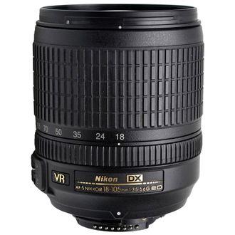 Objetiva Nikon AF-S 18-105mm F/3.5-5.6G ED VR DX - Usada