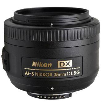 Objetiva Nikon AF-S 35mm F/1.8G DX - SEMINOVA