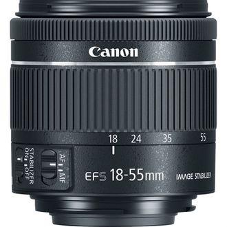 Objetiva Canon EF-S 18-55mm F/4-5.6 LS STM