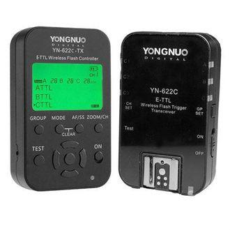 Kit Radio Flash Yongnuo YN  622 (N) com Controlador TX