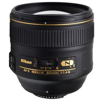Objetiva Nikon AF-S 85mm F/1.4G N - Usada