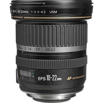 Objetiva Canon EF-S 10-22mm F/3.5-4.5 USM