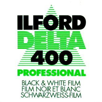 Filme Preto e Branco Ilford Delta 400 - Formato 135 - 36 Poses