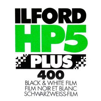 Filme Preto e Branco Ilford HP 5+ 400 - Formato 135 - 36 Poses