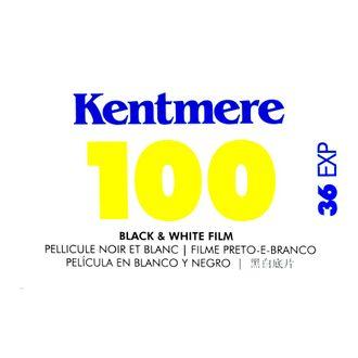 Filme Preto e Branco Kentmere 100 - Formato 135 - 36 Poses