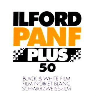 Filme Preto e Branco Ilford Pan F 50 - Formato 135 - 36 Poses