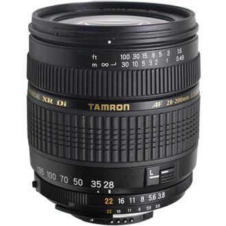 Objetiva Tamron AF 28-200mm F/3.8-5.6 - para Nikon - Usada
