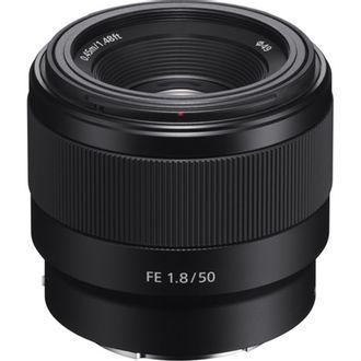 Objetiva Sony FE 50mm F/1.8 E-Mount