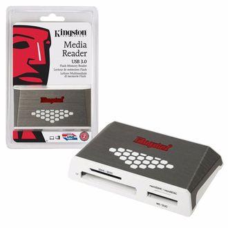 Leitor de Cartão Externo - Kingston Usb 3.0 Media Reader