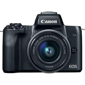 Câmera Canon Mirrorless EOS M50 com Objetiva EF-M 15-45mm F/3.5-6.3 LS STM