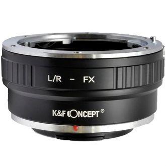 Anel Adaptador K&F Leica-R - FX