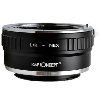 Anel Adaptador K&F Leica-R - Nex