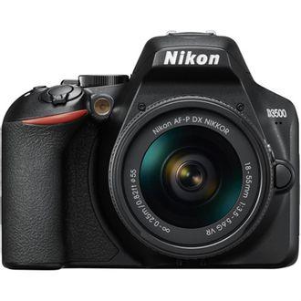 Câmera Nikon D3500 com AF-P 18-55mm F/3.5-5.6 VR
