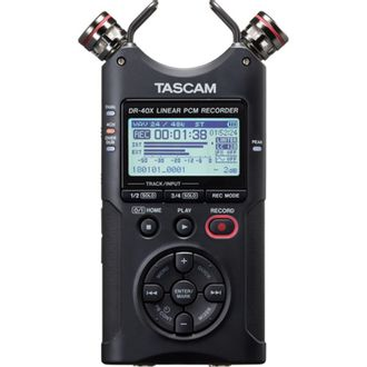 Gravador de Áudio Digital Tascam DR-40X