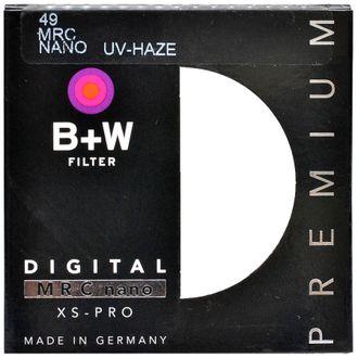 Filtro B+W UV Haze 49mm Mcr Nano XS-Pro