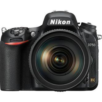 Câmera Nikon D750 com Objetiva AF-S 24-120mm F/4G VR (N)
