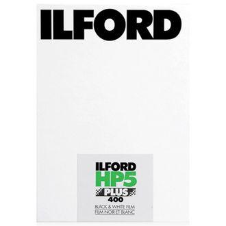Filme Preto e Branco Ilford HP 5+ 400 - Formato 4X5