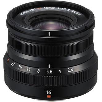 Objetiva Fujinon XF 16mm 2.8 R WR (Black)