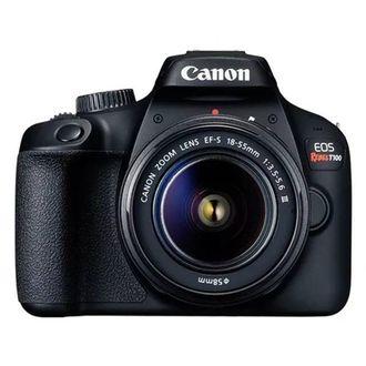 Câmera Canon EOS Rebel T100 com EF-S 18-55mm F/3.5-5.6 IIi