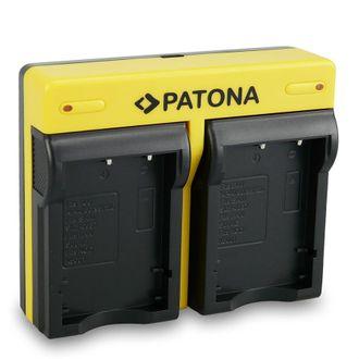 Carregador Duplo Patona P/ Bateria Fujifilm NP-95