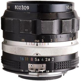 Objetiva Nikon AI 35mm F/2  - Seminova