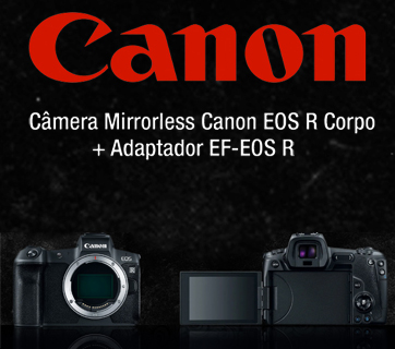 Banner Câmera Mirrorless