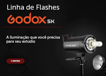 LINHA DE FLASHES GODOX